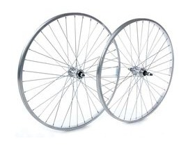 Tru-Build 26 X 1.75 Rear Wheel, Alloy Hub, Silver Screw On